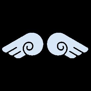 天使の羽のイラスト