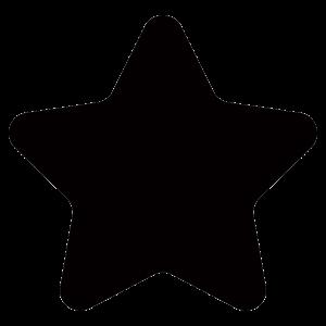 星のアイコンシルエット