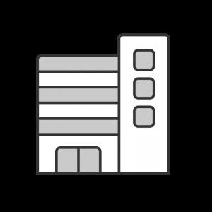シンプルな建物のイラスト