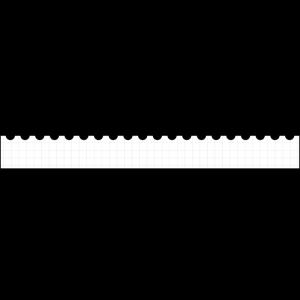 メモ帳風のボトムテロップのイラスト
