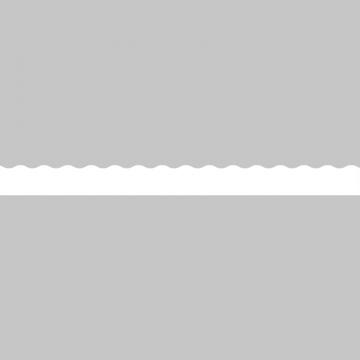 モノクロの波をイメージしたボトムテロップイラスト
