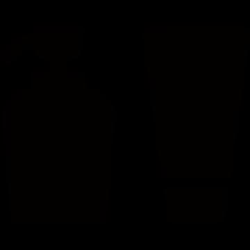 スキンケアセットのアイコンシルエット