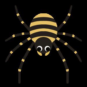 ジョロウグモのイラスト