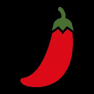 唐辛子のイラスト