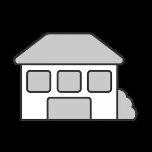 シンプルな2階建ての家のイラスト