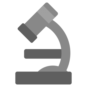 顕微鏡のイラスト