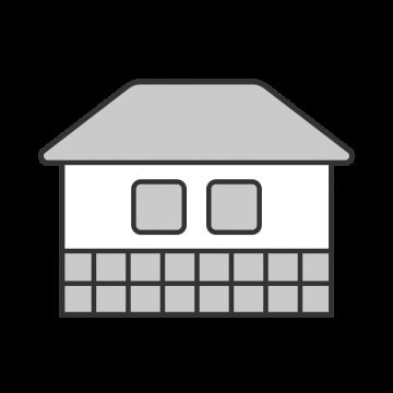 農業用倉庫のイラスト