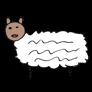 羊のヘタウマイラスト