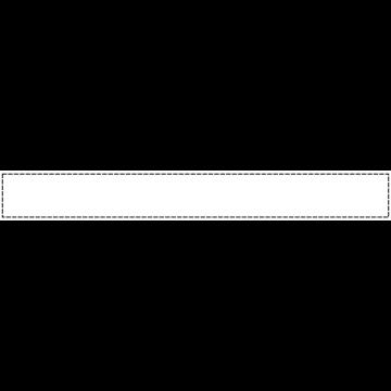 白い背景に黒い波線のふちがあるボトムテロップのイラスト