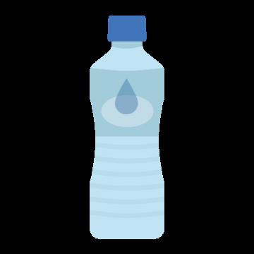 ペットボトルのお水のイラスト