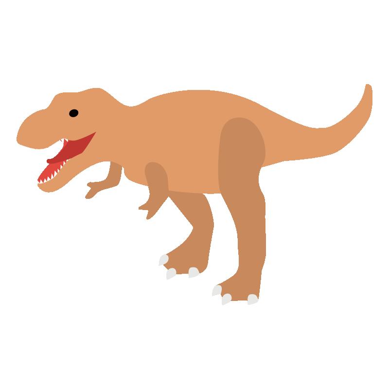 恐竜のティラノサウルスのイラスト