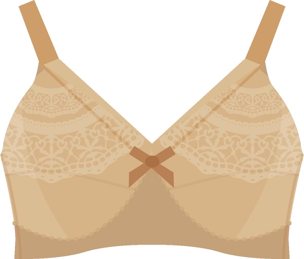 女性用下着のイラスト