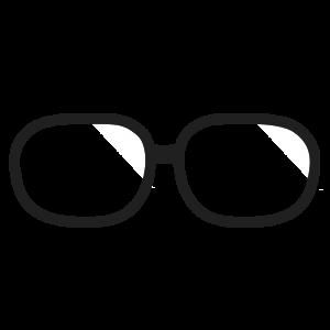 メガネのフレームのイラスト